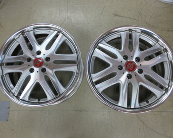 SSR - Vienna Noble 18 inch Wheel 2 pieces set